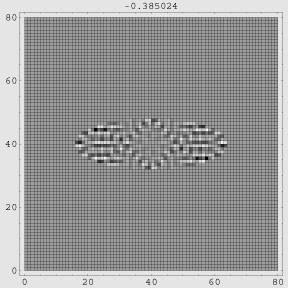 ビリヤード系でのカオティックな波動関数
